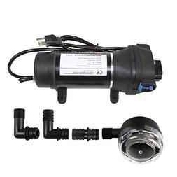 AC110V Self Priming Water Pressure Diaphragm Pump - Soft & N