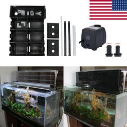 Aquarium Filter Trickle Filter External Upper Fish Tank Drop