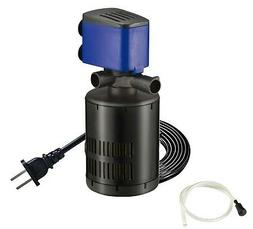 210 GPH 3in1 Submersible Internal Filter Water Pump Oxygen A