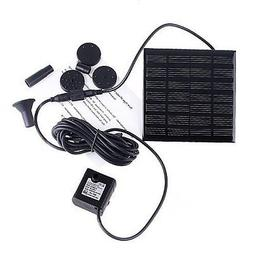 NEW Ankway 1.2W Birdbaths Fountain Pump Solar Powered for Fi