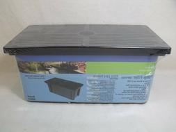 Garden Treasures Black Pump Filter Kit MF500 Fish Pond Water