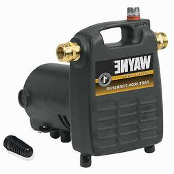 WAYNE WATER SYSTEMS Cast Iron Portable Utility Pump, .5-HP M