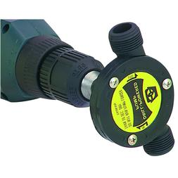 Drill Powered Water Pump Plumbing Garden Hose Thread