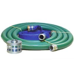 JGB Enterprises Eagle Hose PVC/Aluminum Water/Trash Pump Hos