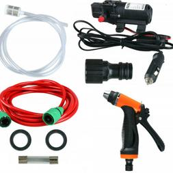 Electric Car Washer kit,12Volt Portable High Pressure Water