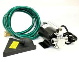 Electric Sump Water Transfer Removal Pump 120V Sump Utility