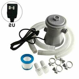 Electric Swimming Pool Filter Pump Above Ground Pool Water C