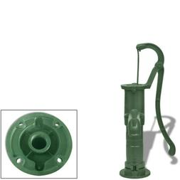 Hand Pump Cast Iron Outdoor Yard Pond Well Water Pitcher Pre