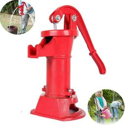 Hand Pump Cast Iron Well Water Pitcher Press Suction Home Ya