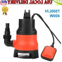 Heave Duty 400W Electric Submersible Pump for Clean Dirty Fl