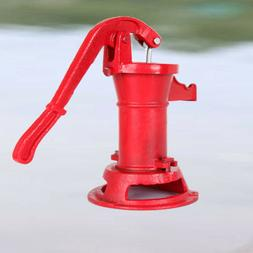 Heavy-duty Hand Pump Cast Iron Well Water Pitcher Press Suct