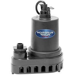 Superior Pump 91570 12 hp Thermoplastic Submersible Utility