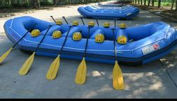 Inflatable 1.2mm PVC SELF BALING Floating White Water RIver