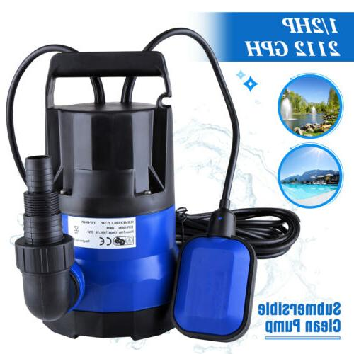 2112 GPH 1/2HP Clean Water