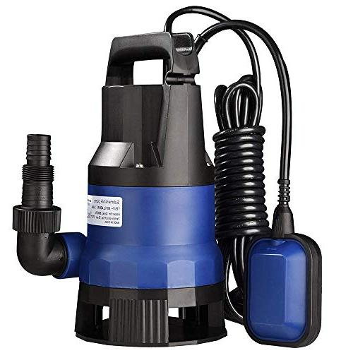 400W Submersible Dirty Water Pump Swimming Pool Pond Water Transfer