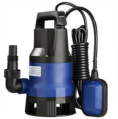 1/2 2112GPH Swimming Submersible Dirty Clean Water Pump