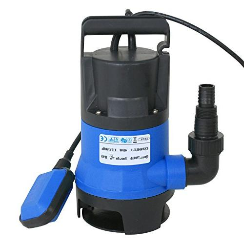 SUPER DEAL 1/2HP Submersible Clean/Dirty Water Pump GPH Tub w/Float Switch Long