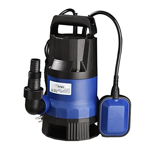 1 2hp submersible clean dirty