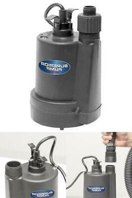 Superior Pump 1/4 HP Submersible Thermoplastic Utility Water