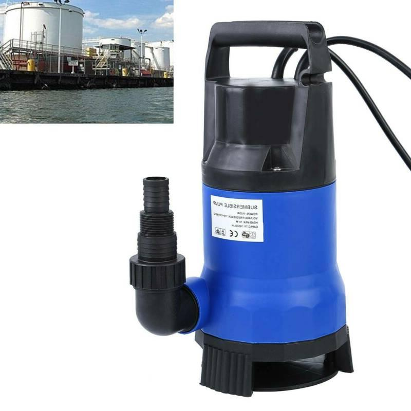 1 5hp plastic clean dirty water submersible