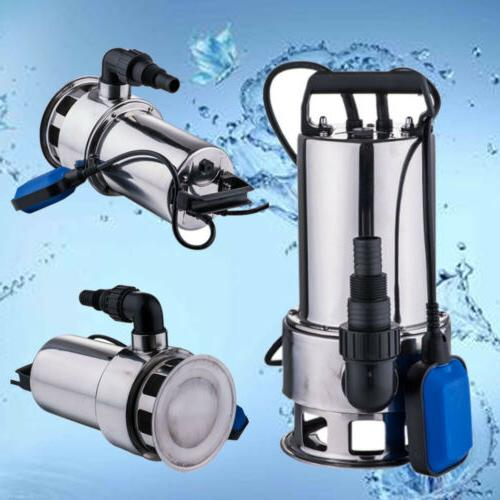 1.5HP Submersible Stainless Dirty Drain