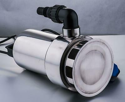 1.5HP Submersible Stainless Steel Dirty Pool Drain