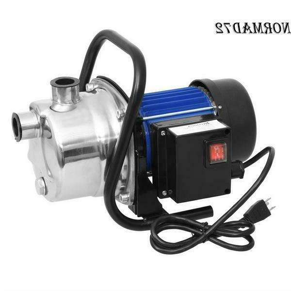 1.6HP Stainless Steel Jet Booster Water Pressure Pump 1200W