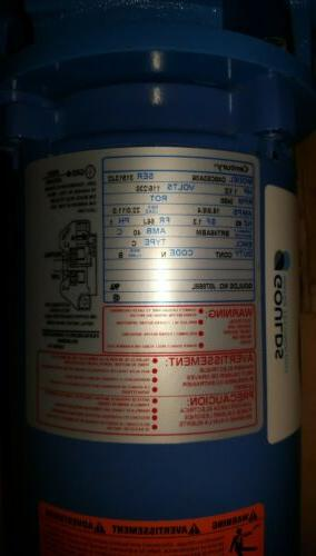 Goulds Water Technology HP Voltage,