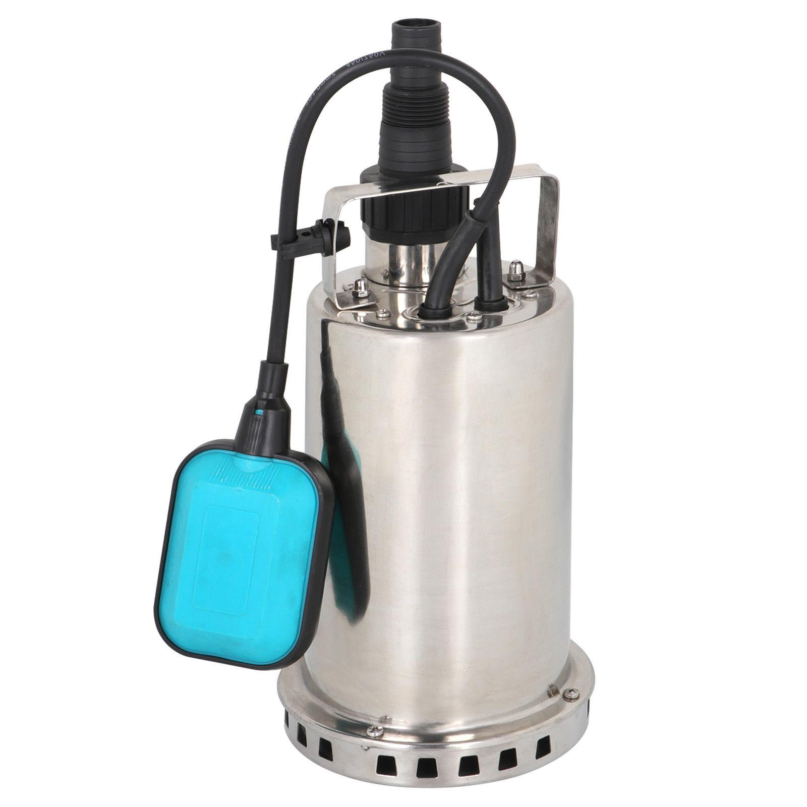 Submersible Water Pump 1 HP 3000GPH Clean Dirty Pool Pond Fl