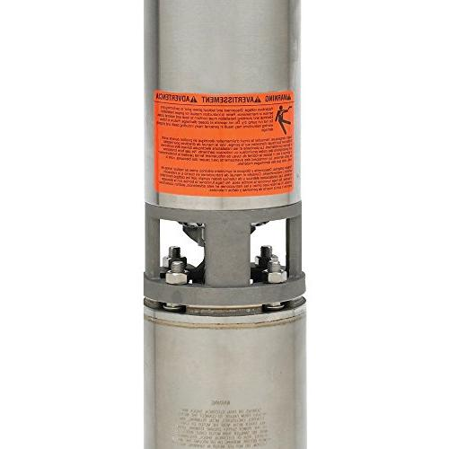 "Goulds 2 1/2 4"" Submersible Water with Motor"
