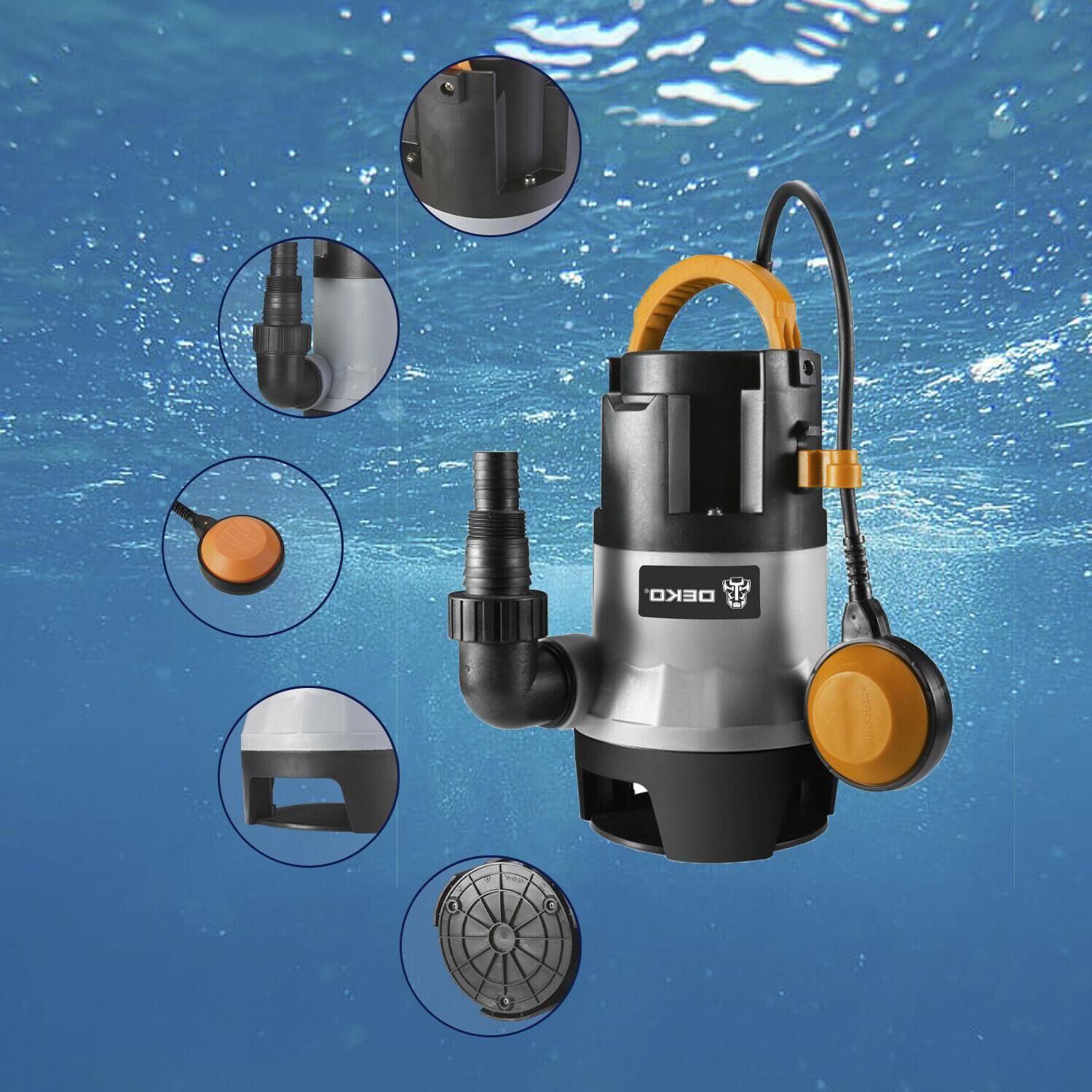 1HP Clean/Dirty Submersible Water Up GPH