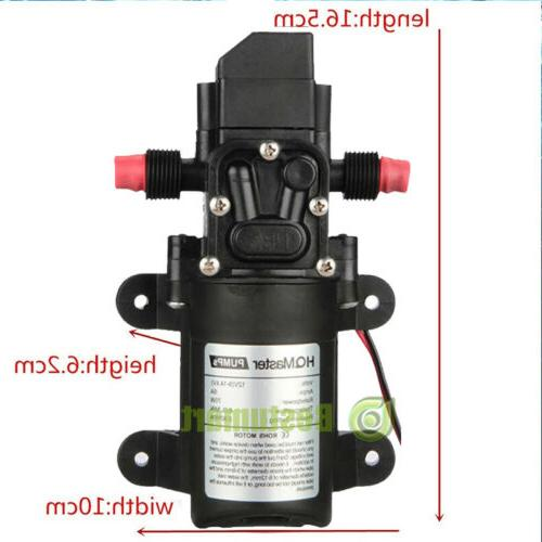 12 Volt 70W Water Pump Self Priming Sprayer