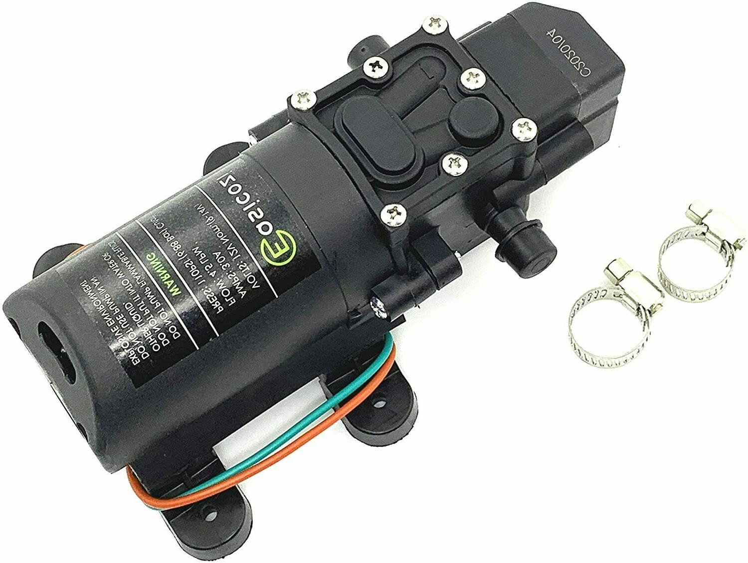 12v dc fresh water pump with 2
