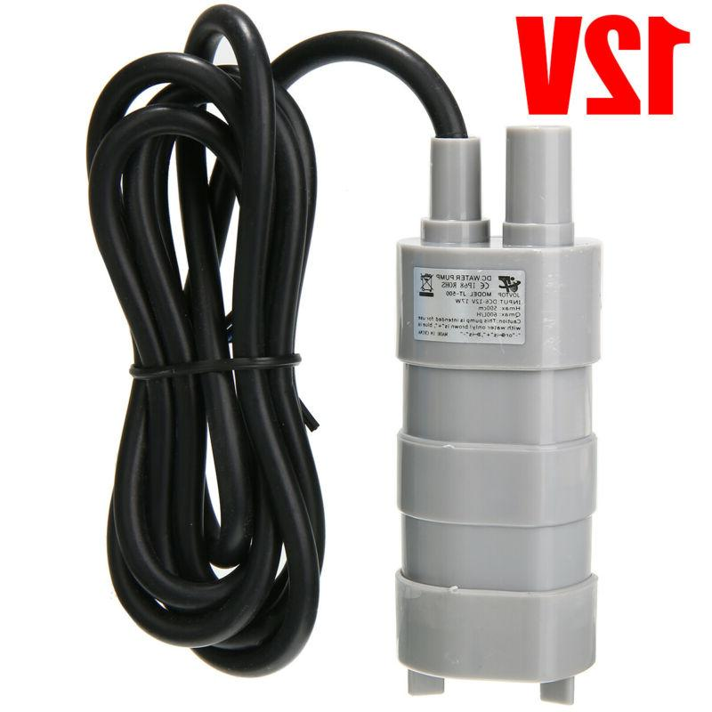 12v high flow water pump submersible water