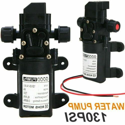 12v water pump 130psi self priming pump