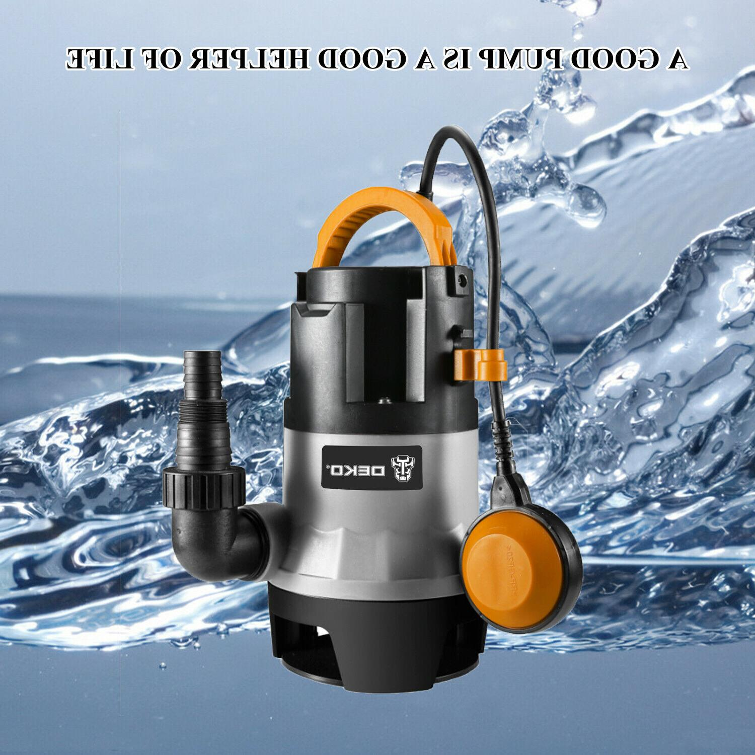 DEKO 400W 1/2HP Sump Pump Water