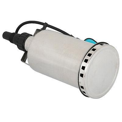Dirty Water Pump Stainless Submersible Pump Sump 1HP 3000GPH 750W