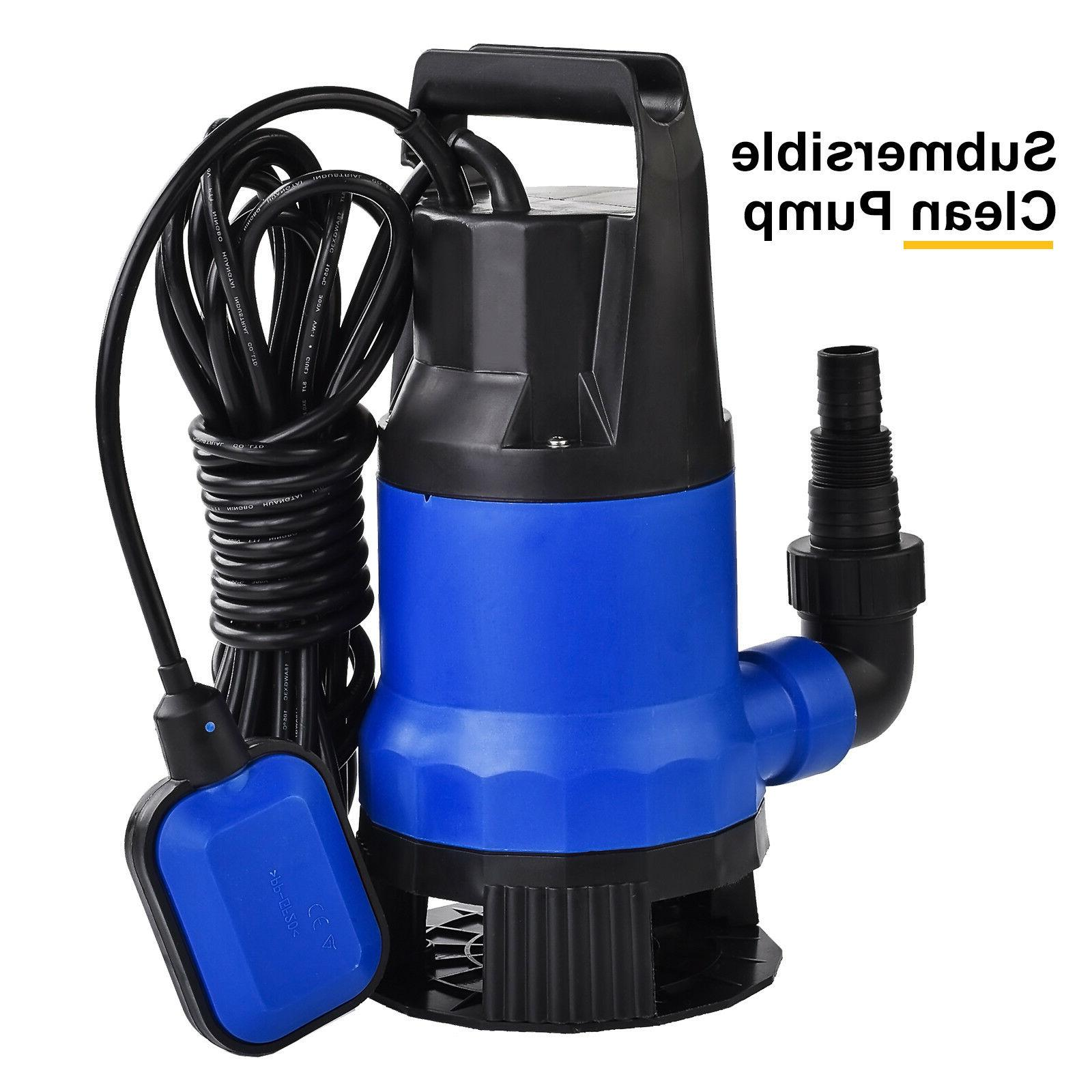1HP Submersible Clean Swimming Pool Flood