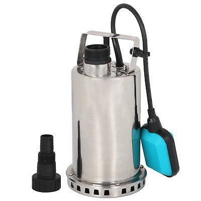 1HP Stainless Steel Submersible Pump Sump Dirty Clean Water