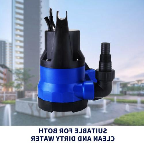 2112 GPH Submersible Clean Water Pump Flooding Pond