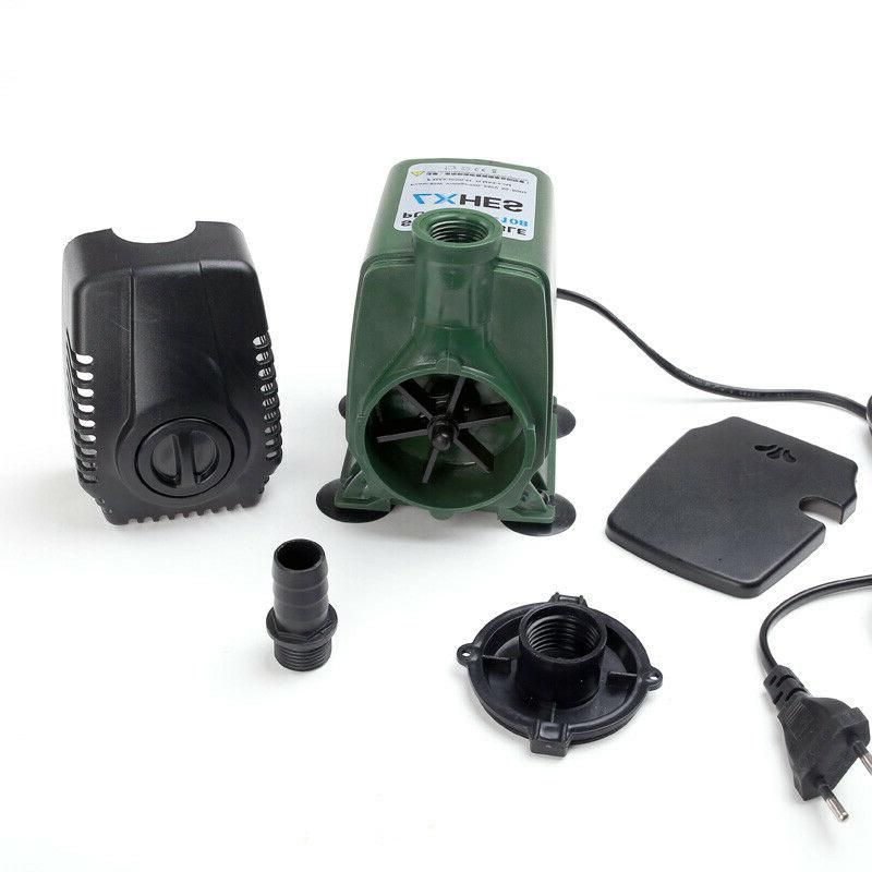 220V Submersible Pump 3-65W Pond Hydroponic