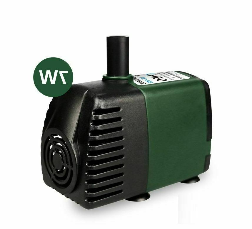 220V Submersible 3-65W Tank Fountain Pond Aquarium