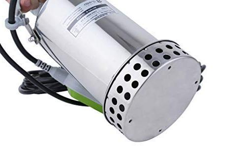 Green Expert Submersible Pump Top for Flood Draining Pond Water Automatic Tethered