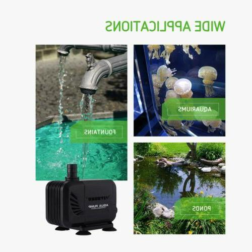 VIVOSUN 800GPH 3000L for Aquarium