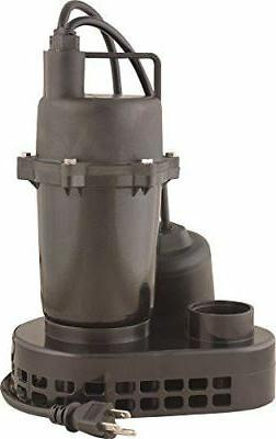 """Star Water Systems 5USPHC 1/2 HP Submersible 1-1/2"""" SUMP PUM"""