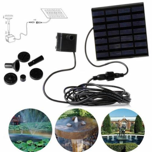 7v solar panel power water pumps