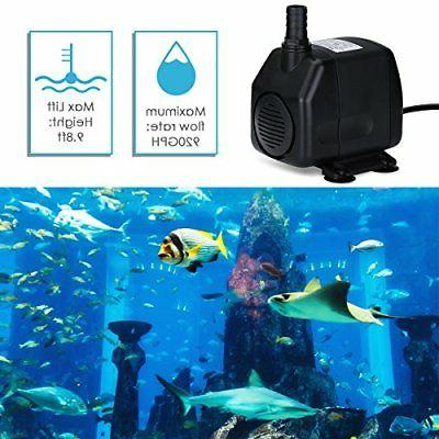 Homasy Submersible Pump 5.9ft Power Co... Free Shipping