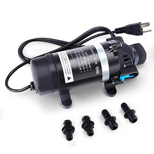 BACOENG - AC 115V 100PSI 110GPH - High Pressure Water Diaphr
