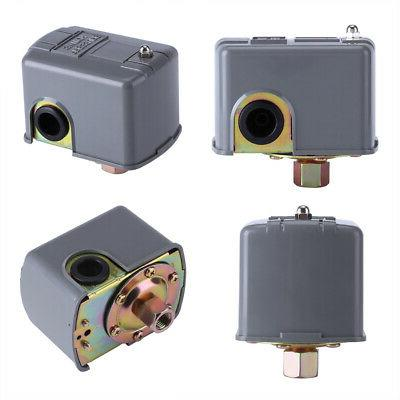 Adjustable Pressure Control Switch Double Spring Pole 40-60 PSI