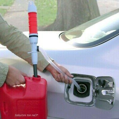 Battery Operated Liquid Transfer Pump Handheld Gas Oil Fish